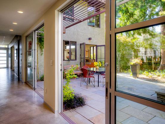 Comfy Contemporary Classical Home Design with Natural Interior Decorating Ideas