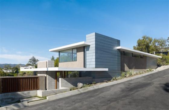 Contemporary California House Design From Street