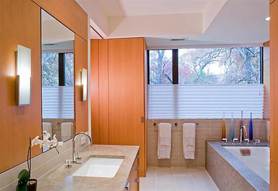 Contemporary Countryside House Designs Ideas Bathroom
