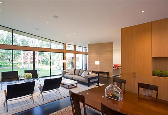 Contemporary Countryside House Designs Ideas Living Room