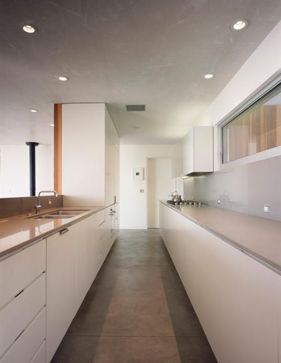 Contemporary Eco Friendly Tree House Design Ideas Kitchen