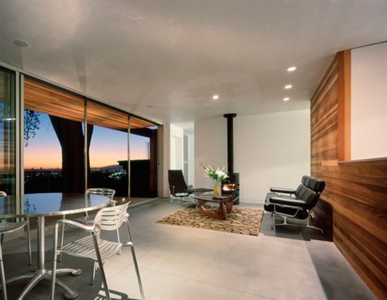 Contemporary Eco Friendly Tree House Design Ideas Main room
