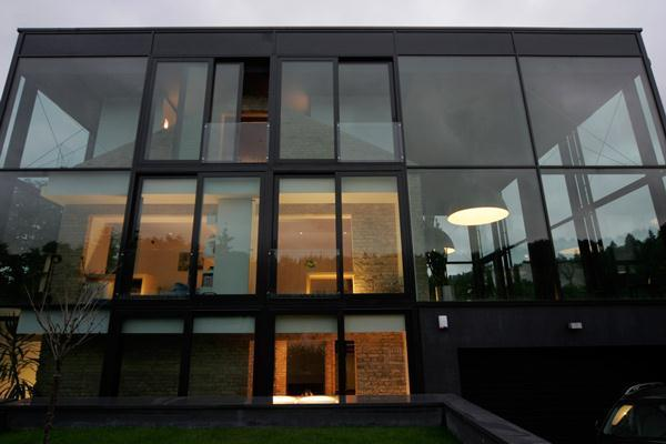 Contemporary and Beautiful Home Design with wide amazing glass