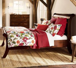 Contemporary and Beautiful wooden Sleigh Beds Design Ideas