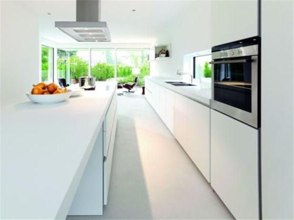 Contemporary and Bright Kitchen Design by Bulthaup