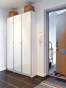 Contemporary and Elegant Apartment Design Inspiration shelves