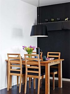 Contemporary and Elegant Apartment Design Inspiration table sets