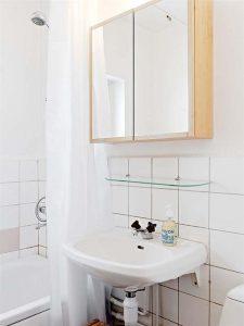 Contemporary and Elegant Apartment Design Inspiration washbawl