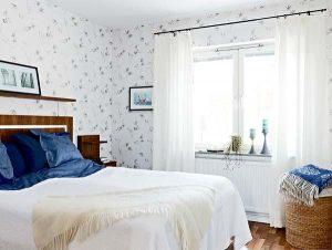 Contemporary and Elegant Apartment Design Inspiration white beds room