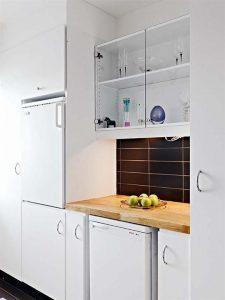 Contemporary and Elegant Apartment Design Inspiration white set