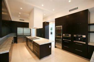 Contemporary and Luxury House Design in Miami Florida Kitchen