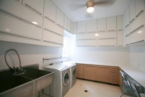 Contemporary and Luxury House Design in Miami Florida Washing Room