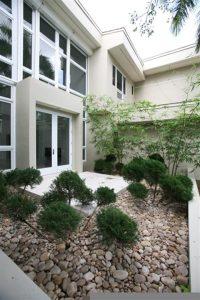 Contemporary and Luxury House Design in Miami Florida nature area