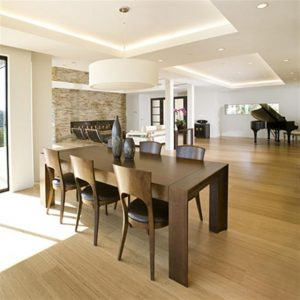 Contemporary and Modern Dream Home Design Dining Room