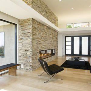 Contemporary and Modern Dream Home Design Fireplace Room