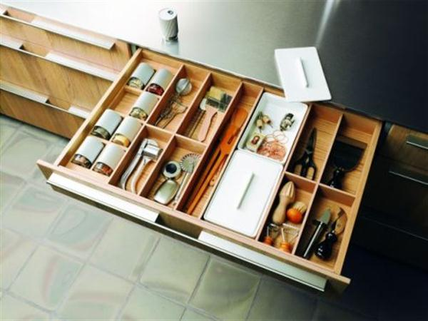 Contemporary and Stylish Kitchen shelves Design by Bulthaup