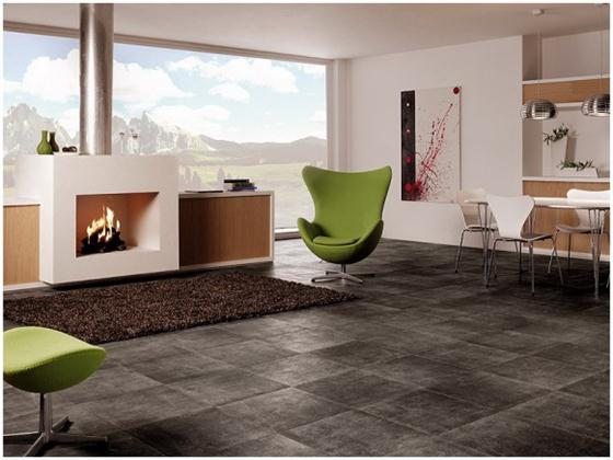 Contemporary and Unique Ceramic Floor and Wall Tiles Black dark
