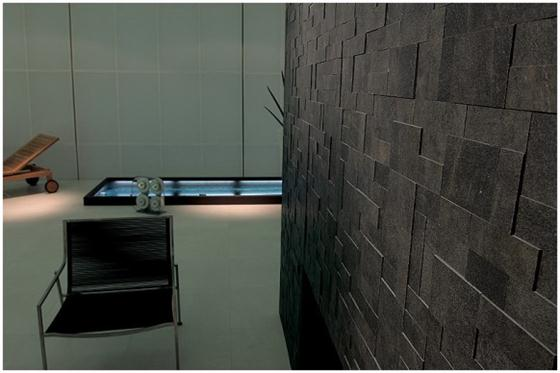 Contemporary and Unique Ceramic Floor and Wall Tiles Dark arranged