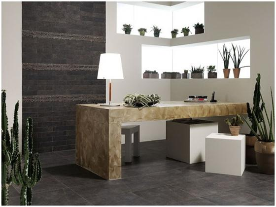 Contemporary and Unique Ceramic Floor and Wall Tiles Dark marmer