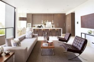 Contemporary and glamorous living room Design in California x