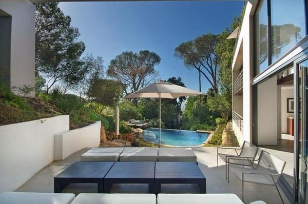 Contemporary the bridge house Villa Design with Unique Concept in South Africa