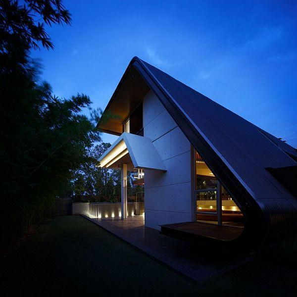 Cool Home Design with Unique Concept by Arkhefield