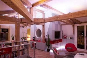Cool and unusual Remodeled Loft Design Ideas by FrA©dA©ric Flanquart x