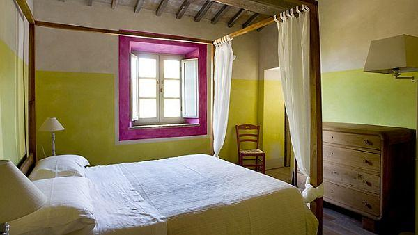 Country Home ideas with wonderful bedroom design Casa Fabbrini Guest House