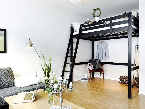 Creative Renovate Swedish Studio Design Ideas