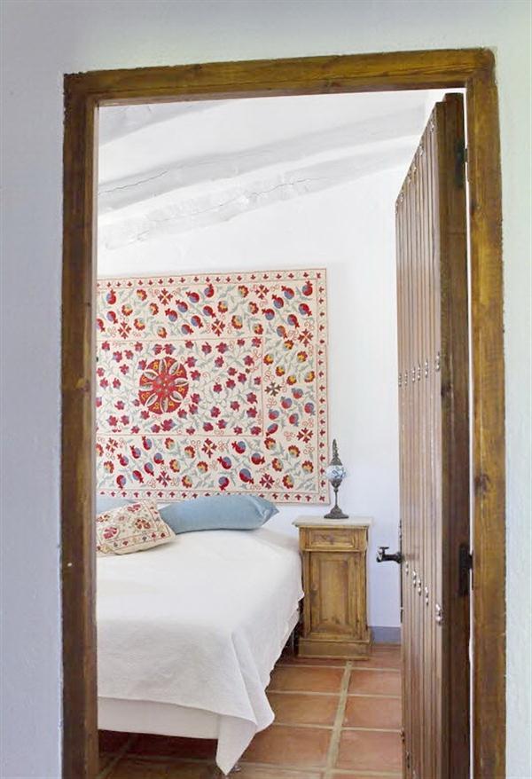 Cute Classical Rustic bedroom Design in Andalucia Spain