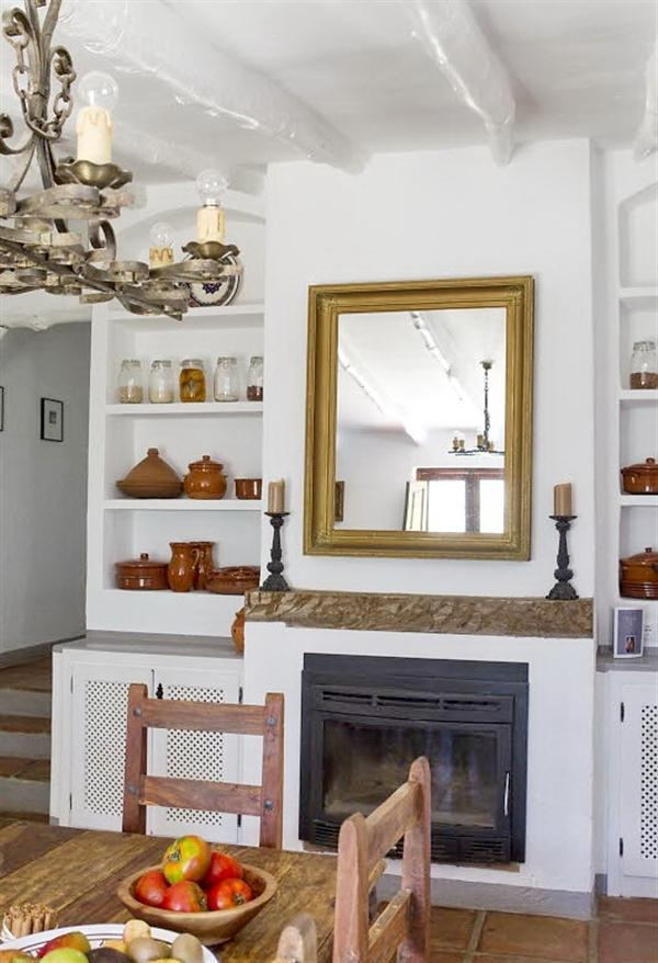Cute Rustic Country House interior design in Andalucia Spain