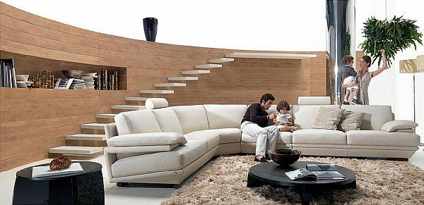 Cute beige Corner Sofas for Your Home Interior