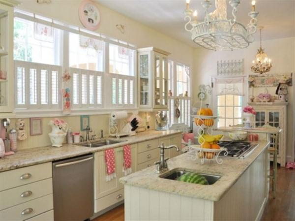 Cute kitchen design ideas lady vintage kitchen by Jennifer Hayslip