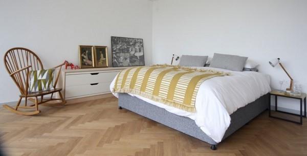 Delightful Scandinavian bedroom Design by Linea Studio in England