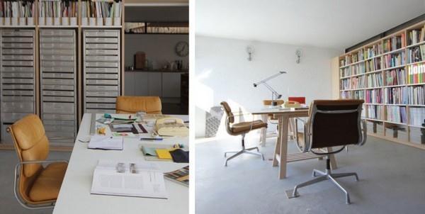 Delightful Scandinavian office Design by Linea Studio in England