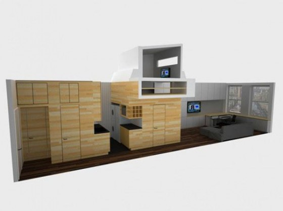 Design of Awesome Space Maximization square feet Small Studio Apartment x