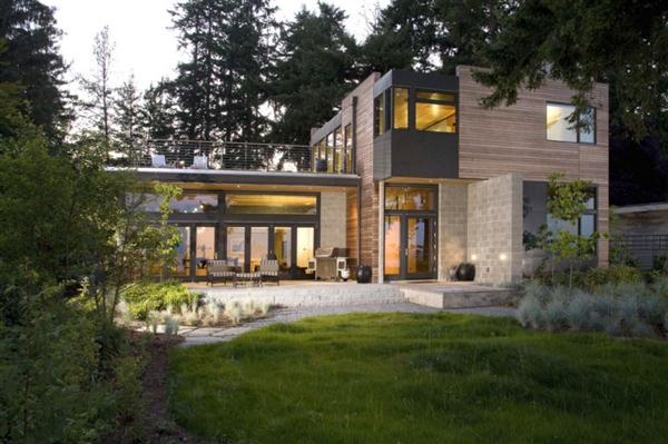 Eco friendly Home with beautiful Design in Washington Ellis Residence by Coates Design