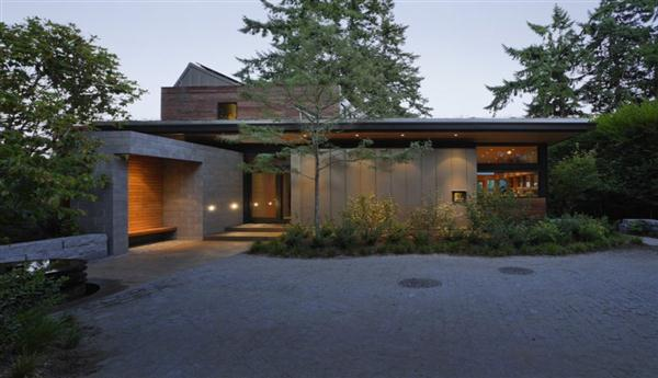 Eco friendly modern Home Design Ellis Residence by Coates Design