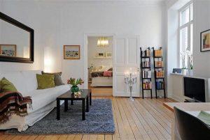 Elegance Scandinavian Apartment Design Inspiration