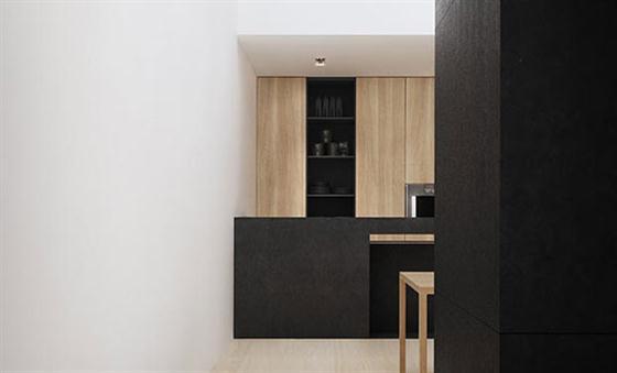 Elegant Black and White Interior Design