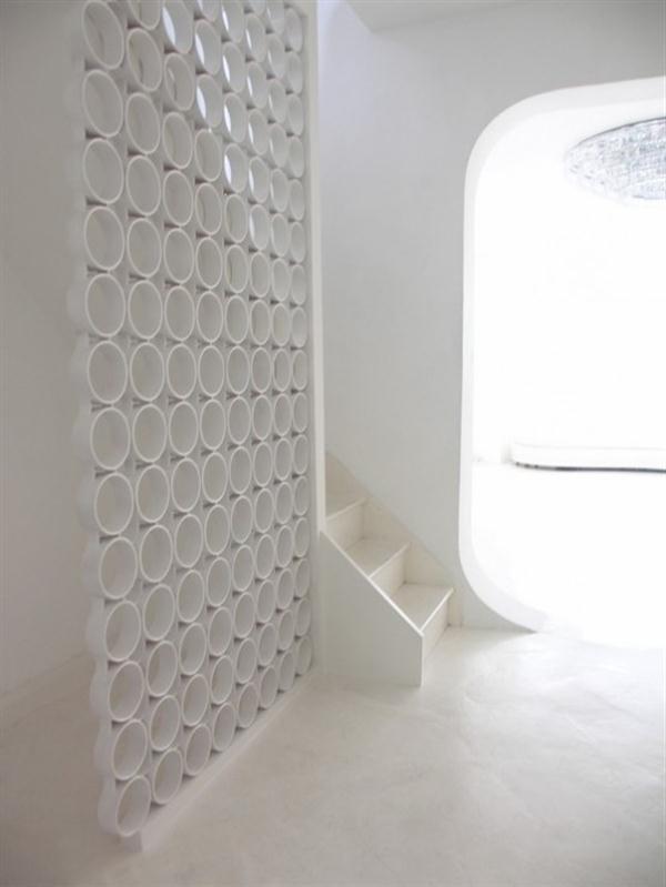 Futuristic Circle Home Interior Decorating Inspiration