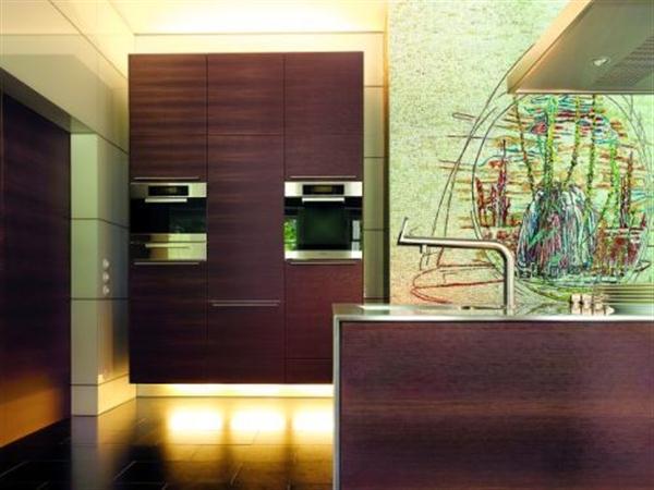 Futuristic and Stylish Kitchen Design by Bulthaup