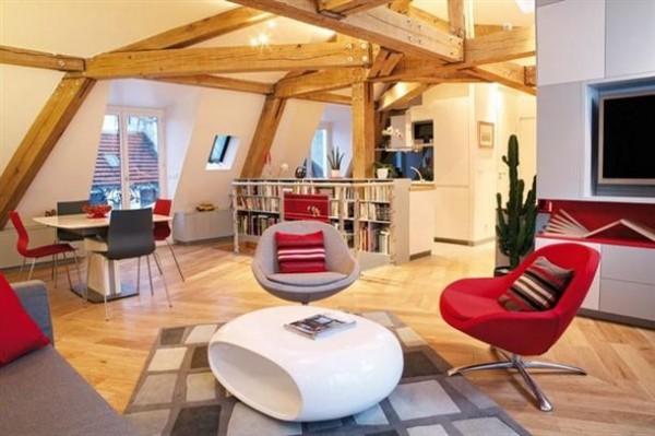 Gorgeous Remodeled Loft Design Ideas by FrA©dA©ric Flanquart