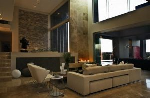 Home in Johannesburg with luxurious and modern design