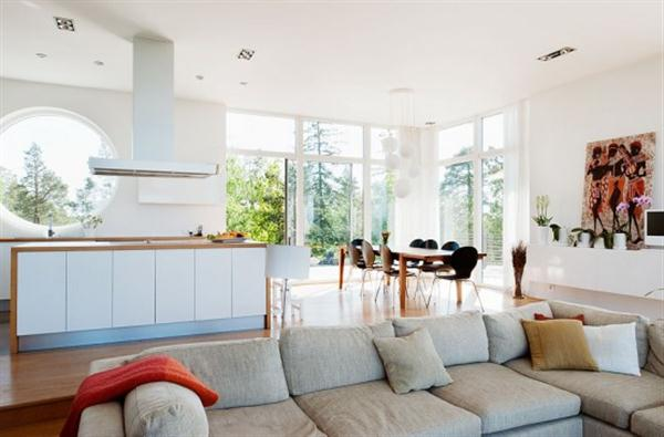 Home interior Design Ideas for Large Families with luxurious and cozy concept