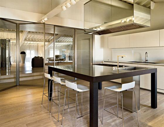Interior Design Ideas with Modern Classic Style kitchen interior