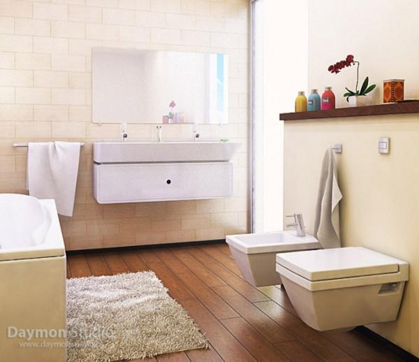 Luxurious Bathroom Design by Daymon Studio