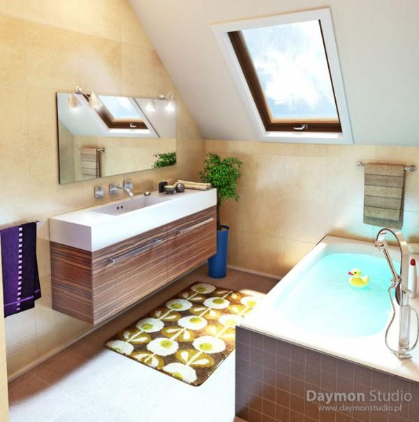 Luxurious Bathroom Design with cute and stylish concept