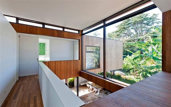 Luxurious Home with Natural Garden Concept second floor design
