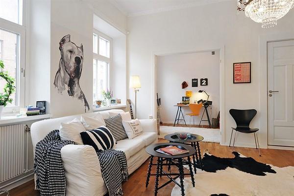 Luxurious and Minimalist Swedish Apartment Design Inspiration